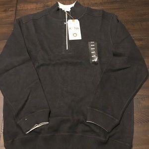 Kona Supply Co Reversible Knit 1/4 Zip Pullover